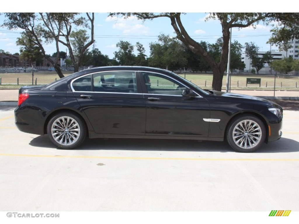 black sapphire metallic 2012 bmw 7 series 740li sedan. Black Bedroom Furniture Sets. Home Design Ideas