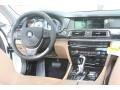 Saddle/Black 2012 BMW 7 Series Interiors