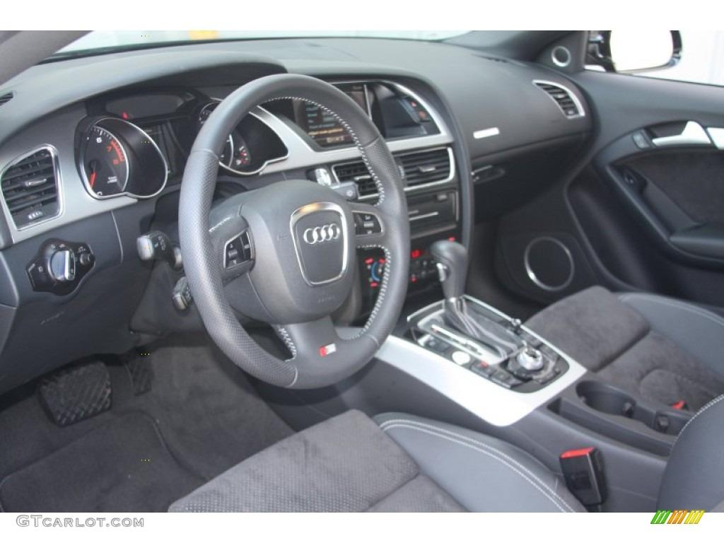 Black Interior 2011 Audi A5 2 0t Quattro Coupe Photo 52650593