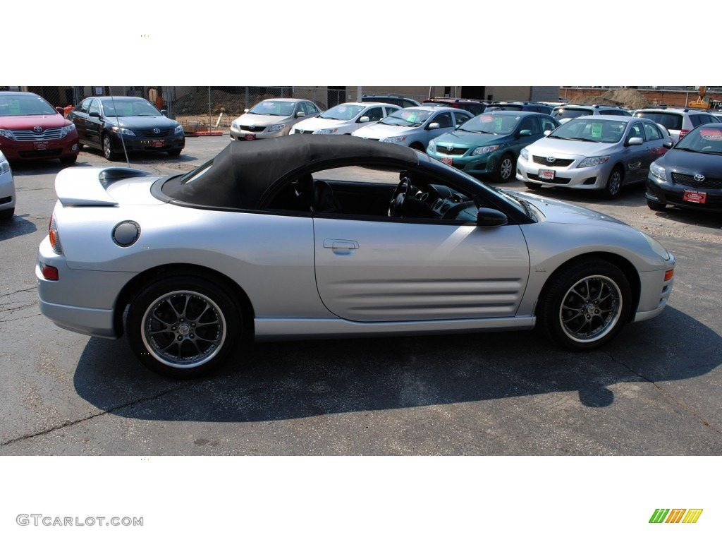 Sterling Silver Metallic 2003 Mitsubishi Eclipse Spyder Gts Exterior Photo 52663765 Gtcarlot Com