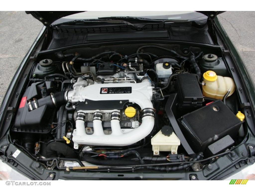 2000 Saturn L Series Ls2 Sedan 3 0 Liter Dohc 24v V6 Engine Photo 52672864