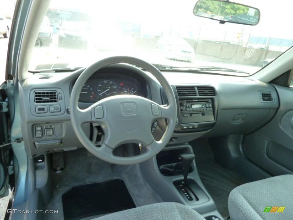 1999 Honda Civic EX Sedan Dashboard Photos   GTCarLot.com