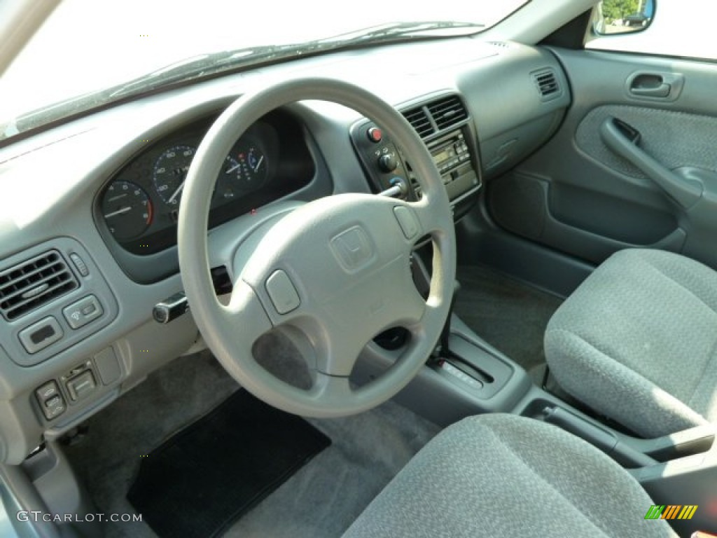 gray interior 1999 honda civic ex sedan photo 52678552