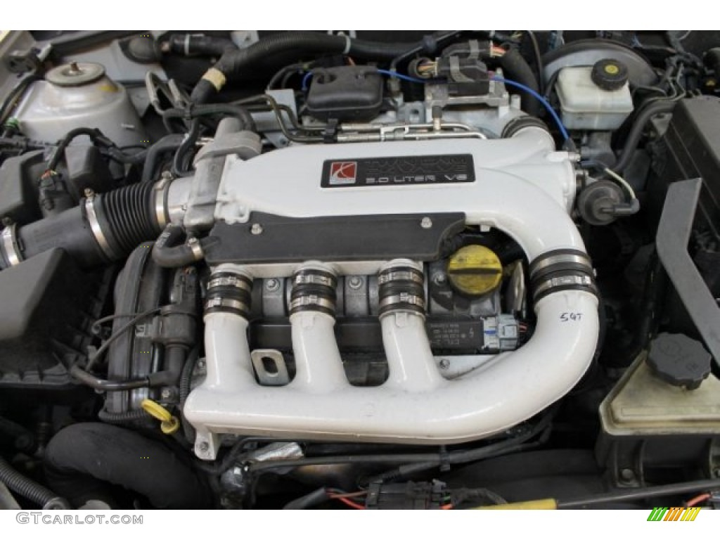 2004 Saturn L300 3 Sedan Engine Photos