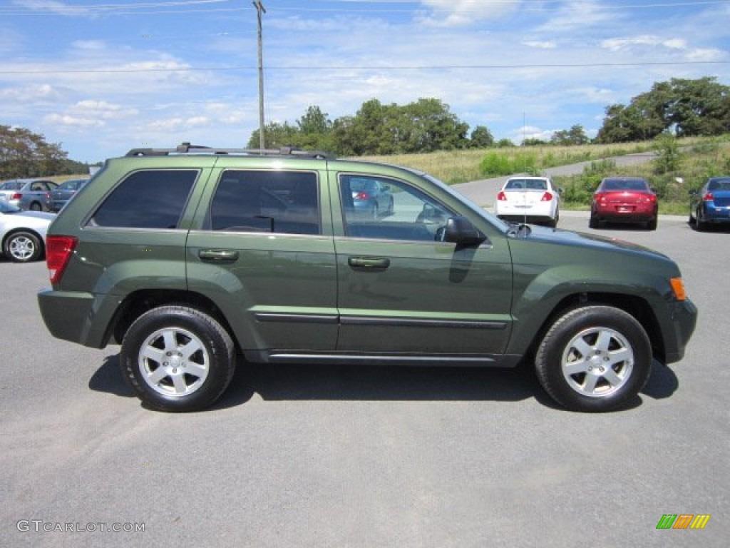 Jeep Green Metallic 2008 Jeep Grand Cherokee Laredo 4x4
