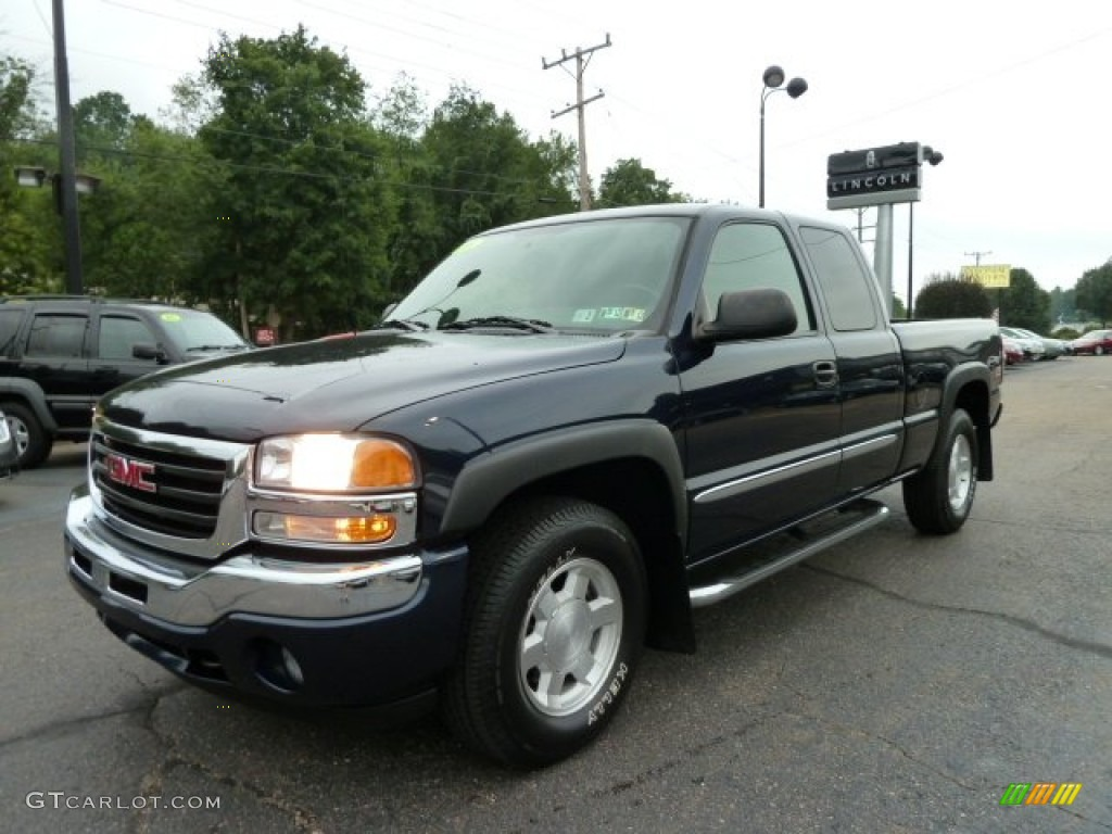 2006 deep blue metallic gmc sierra 1500 z71 extended cab. Black Bedroom Furniture Sets. Home Design Ideas