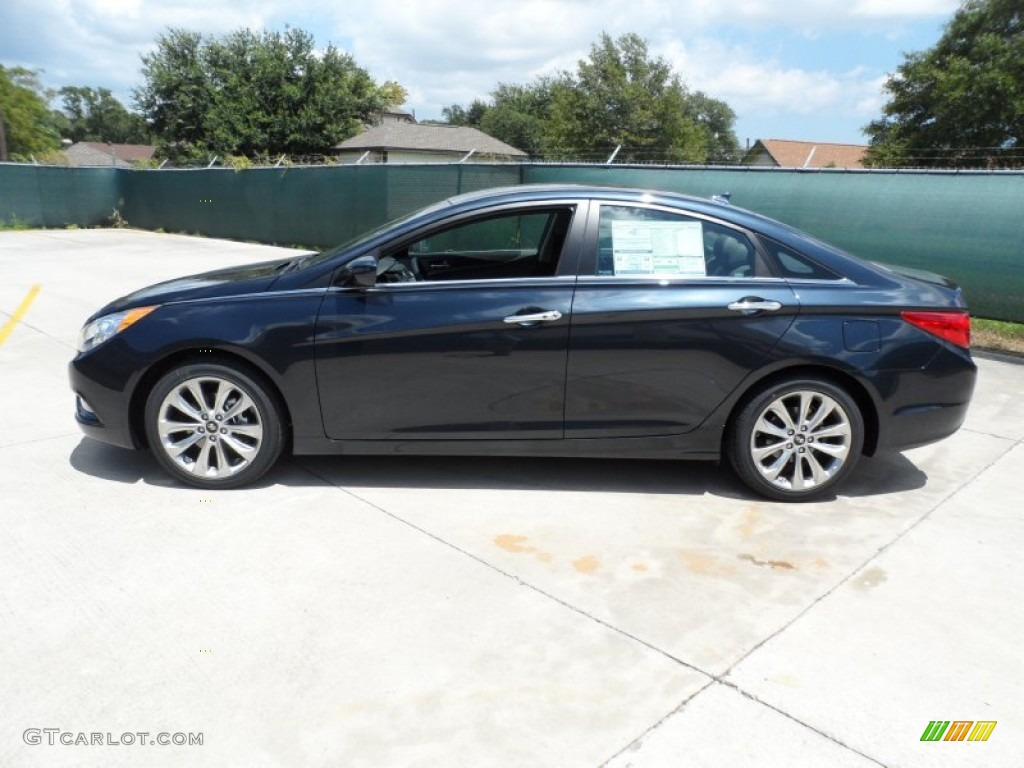 2012 pacific blue pearl hyundai sonata limited 2 0t 52687991 photo 6 car. Black Bedroom Furniture Sets. Home Design Ideas
