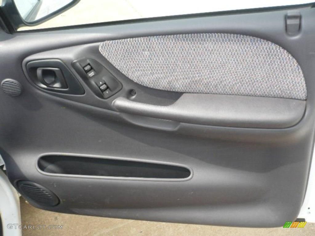 1998 Dodge Dakota Sport Extended Cab Agate Door Panel Photo 52697775