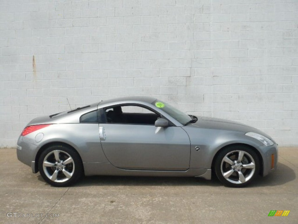 silverstone metallic 2006 nissan 350z coupe exterior photo. Black Bedroom Furniture Sets. Home Design Ideas