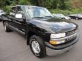 2000 Onyx Black Chevrolet Silverado 1500 Z71 Extended Cab 4x4  photo #1