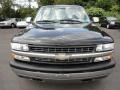 2000 Onyx Black Chevrolet Silverado 1500 Z71 Extended Cab 4x4  photo #2