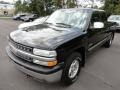 2000 Onyx Black Chevrolet Silverado 1500 Z71 Extended Cab 4x4  photo #3