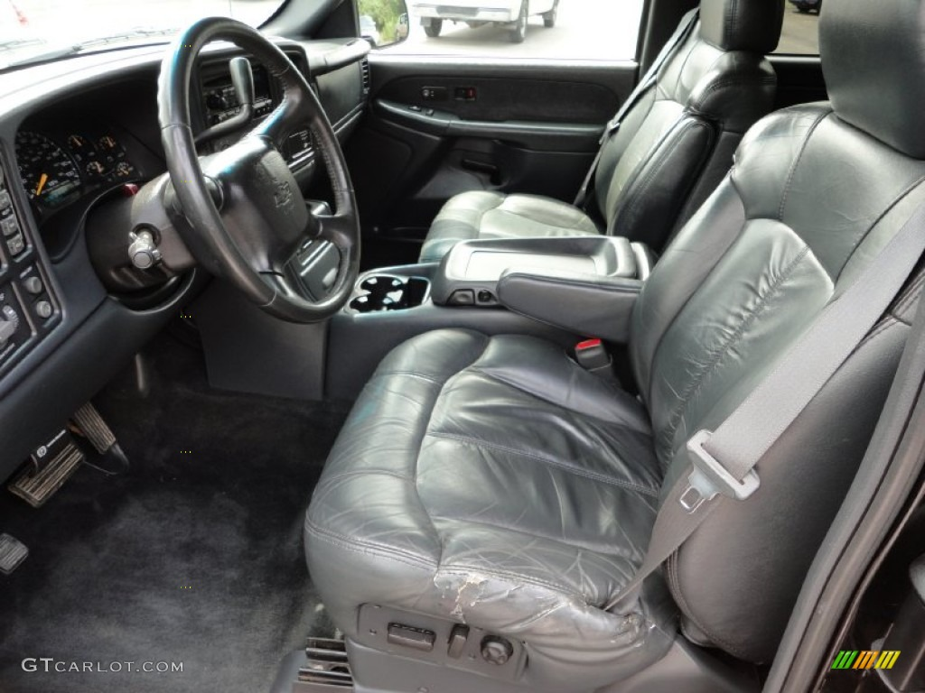 2000 Silverado 1500 Z71 Extended Cab 4x4 - Onyx Black / Graphite photo #9