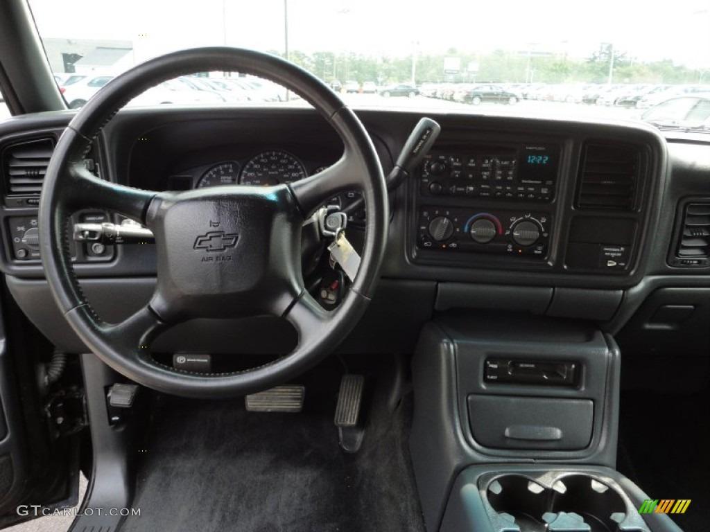 2000 Silverado 1500 Z71 Extended Cab 4x4 - Onyx Black / Graphite photo #10