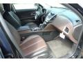 Jet Black/Brownstone Interior Photo for 2010 Chevrolet Equinox #52736172