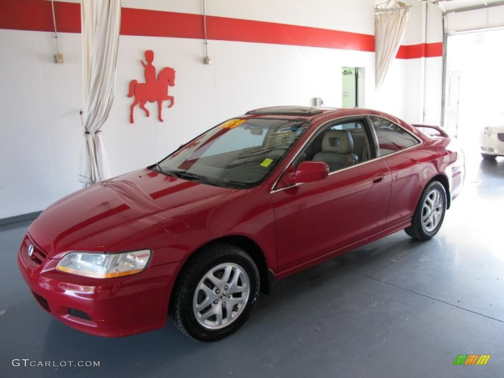 2002 san marino red honda accord ex v6 coupe 52724352 for 2002 honda accord ex coupe