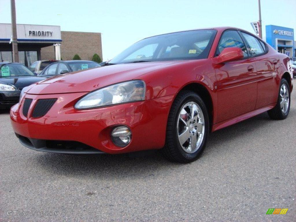 2007 crimson red pontiac grand prix gt sedan 52724568 car color galleries. Black Bedroom Furniture Sets. Home Design Ideas