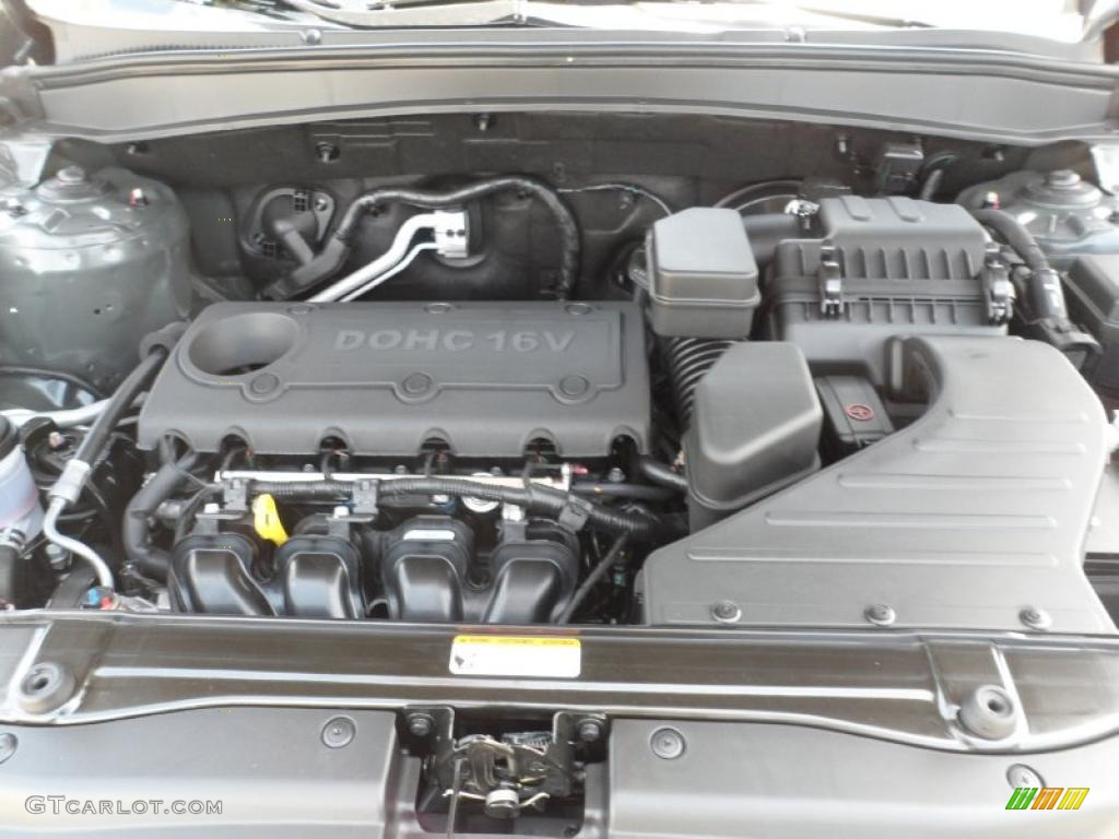 2011 Hyundai Santa Fe Limited 2 4 Liter Dohc 16 Valve Vvt 4 Cylinder Engine Photo 52745772