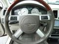Dark Khaki/Light Graystone Steering Wheel Photo for 2008 Chrysler 300 #52747324