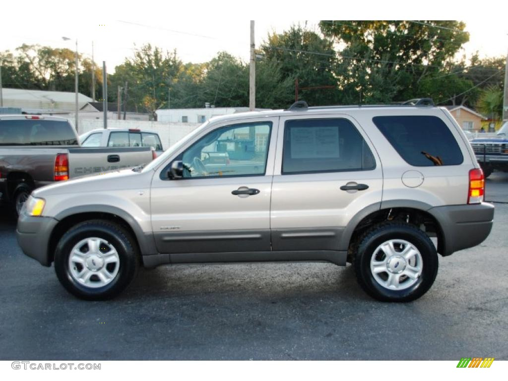 2008 Ford Escape Xls Light Parchment Gold Metallic 2001 Ford Escape XLT V6 Exterior Photo ...