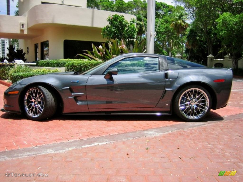 Cyber gray metallic 2009 chevrolet corvette zr1 exterior photo 52759852 gtcarlot com