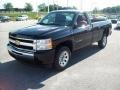 2011 Black Chevrolet Silverado 1500 LS Regular Cab  photo #10