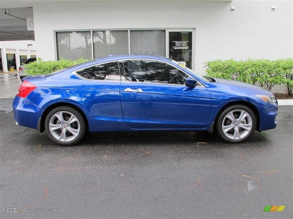 Belize Blue Pearl 2011 Honda Accord Ex L V6 Coupe Exterior