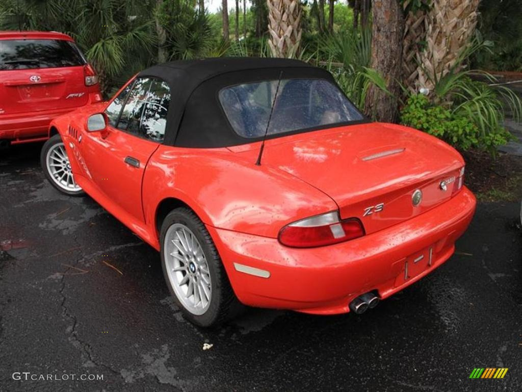 Bright Red 2001 Bmw Z3 3 0i Roadster Exterior Photo 52773640 Gtcarlot Com