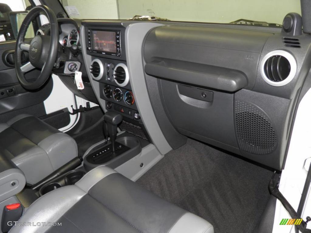 Dark Slate Gray Medium Slate Gray Interior 2010 Jeep Wrangler Unlimited Sahara 4x4 Photo