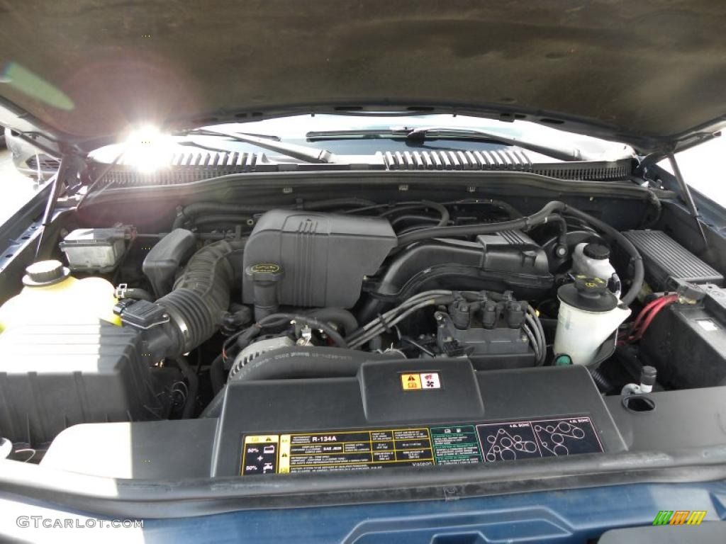 2002 ford explorer xlt 4 0 liter sohc 12 valve v6 engine photo 52790300. Black Bedroom Furniture Sets. Home Design Ideas