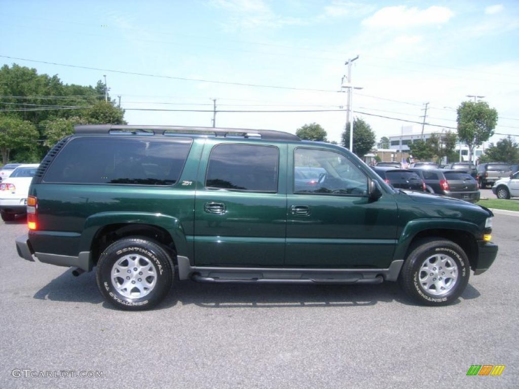 Dark Green Metal...2003 Chevy Suburban Paint Colors