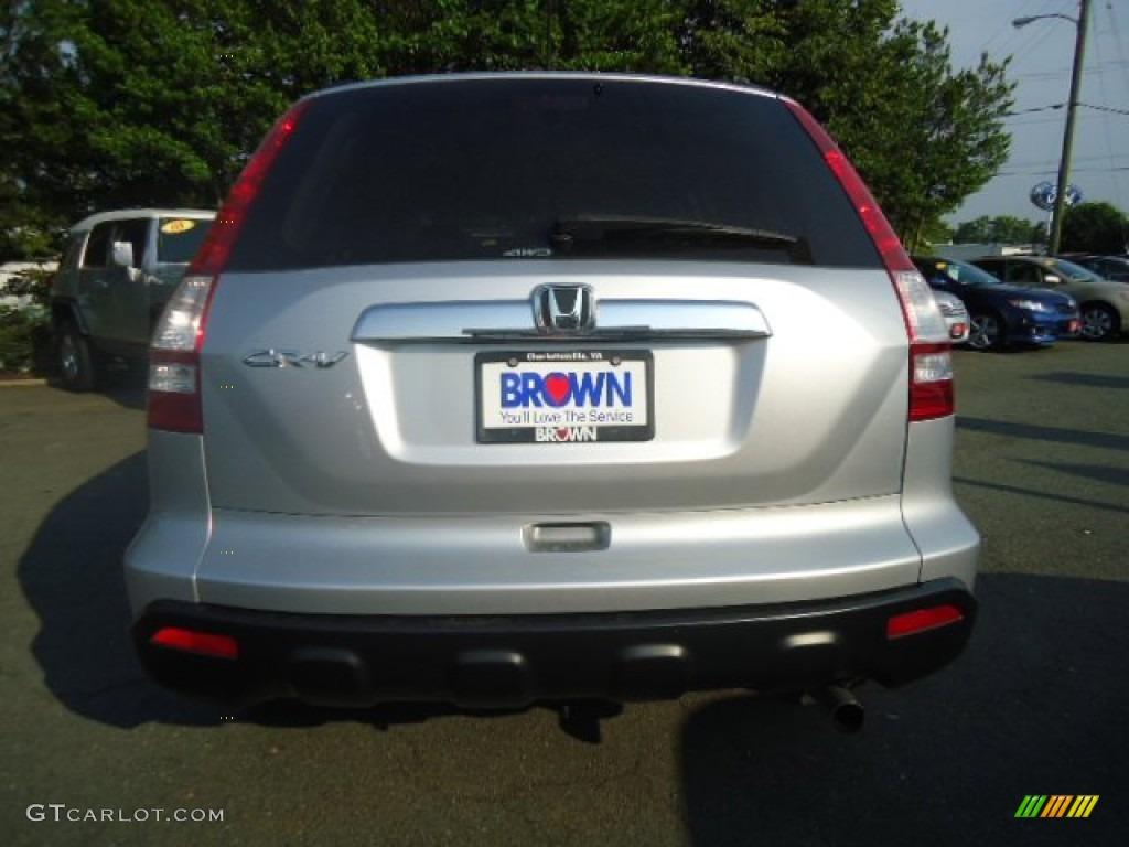 2009 CR-V EX 4WD - Alabaster Silver Metallic / Gray photo #4