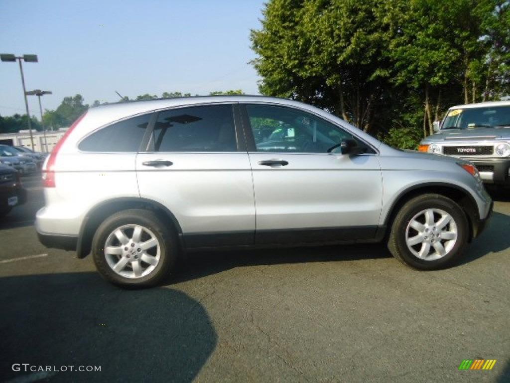 2009 CR-V EX 4WD - Alabaster Silver Metallic / Gray photo #5