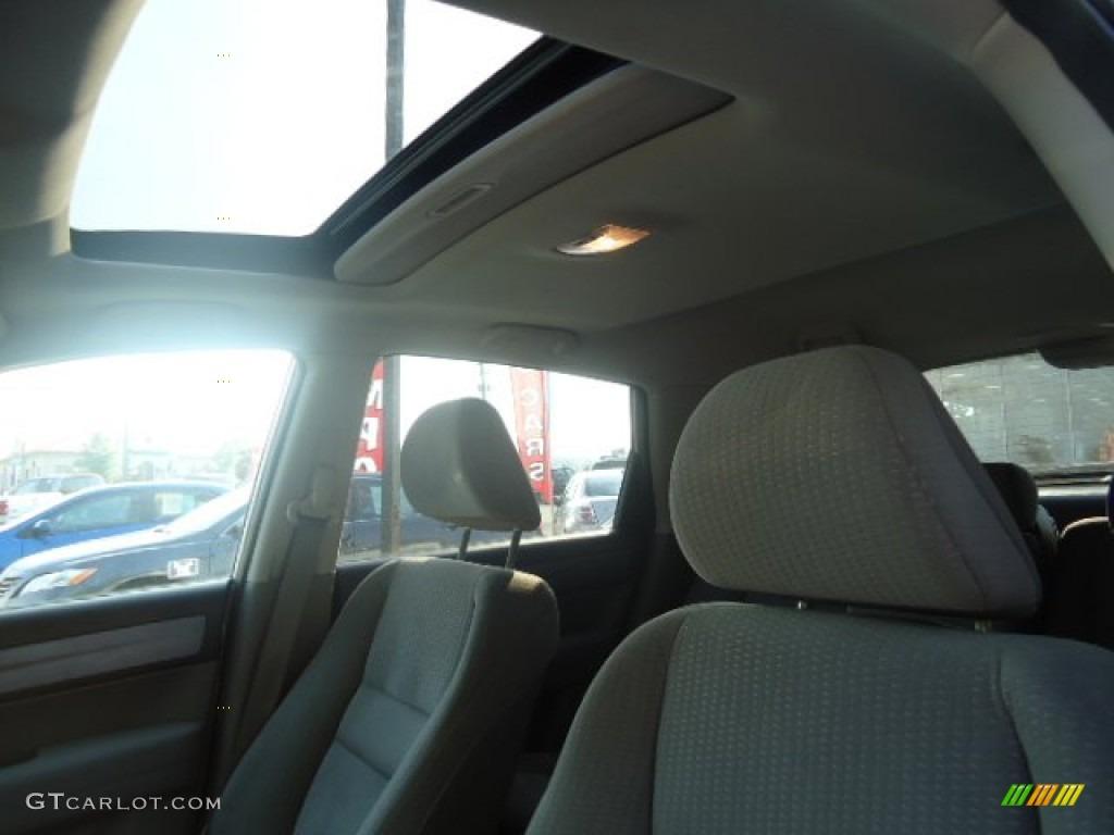 2009 CR-V EX 4WD - Alabaster Silver Metallic / Gray photo #7