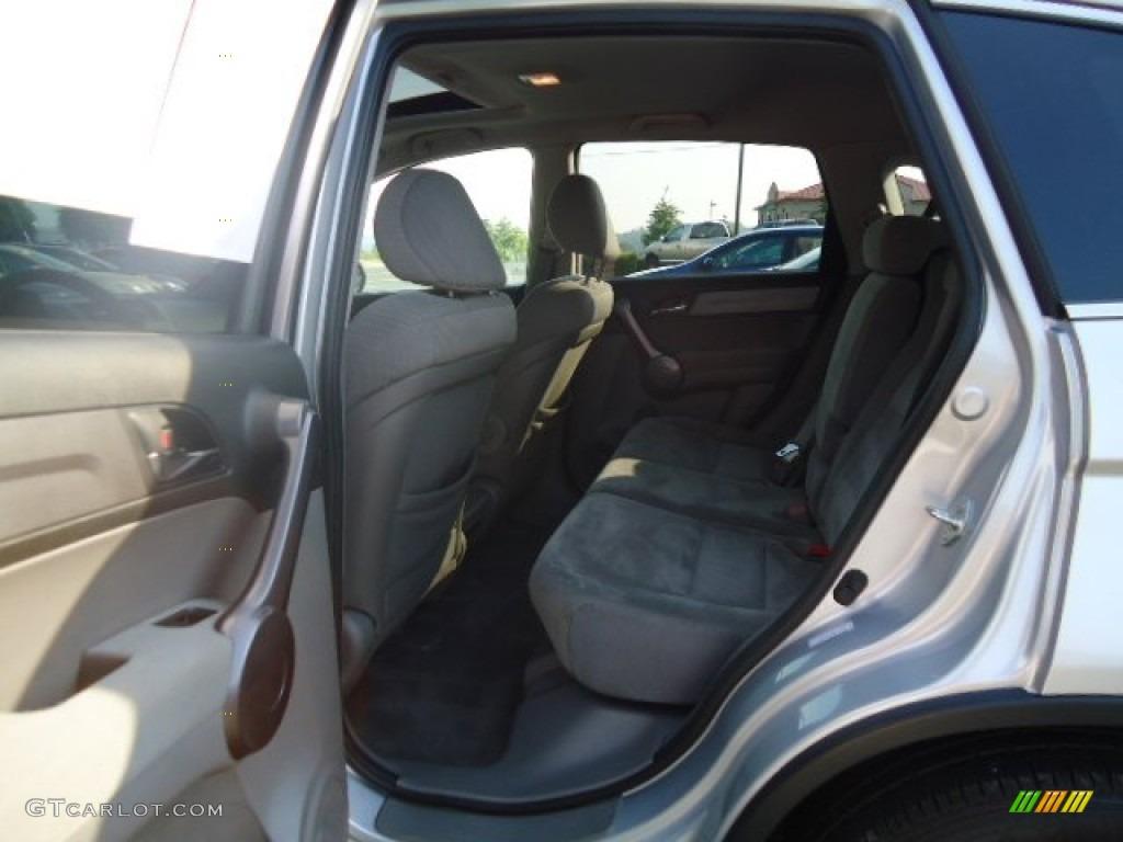 2009 CR-V EX 4WD - Alabaster Silver Metallic / Gray photo #8