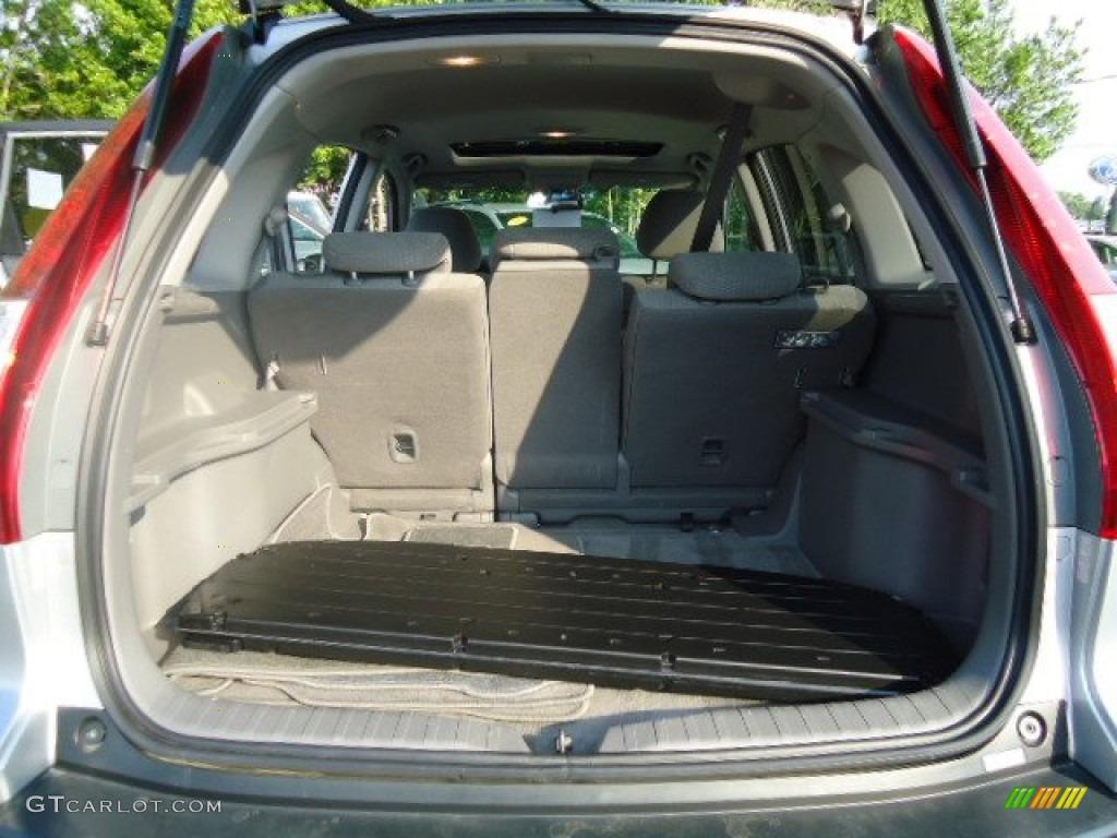 2009 CR-V EX 4WD - Alabaster Silver Metallic / Gray photo #13