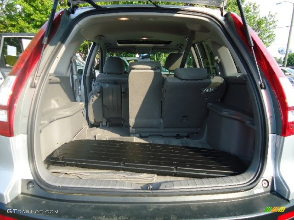 2009 CR-V EX 4WD - Alabaster Silver Metallic / Gray photo #14