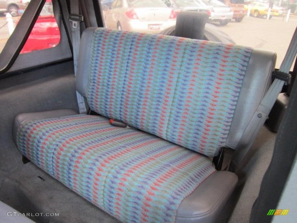 Gray Interior 1997 Jeep Wrangler Se 4x4 Photo 52825178