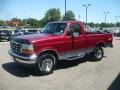 Electric Currant Red Pearl 1995 Ford F150 Gallery
