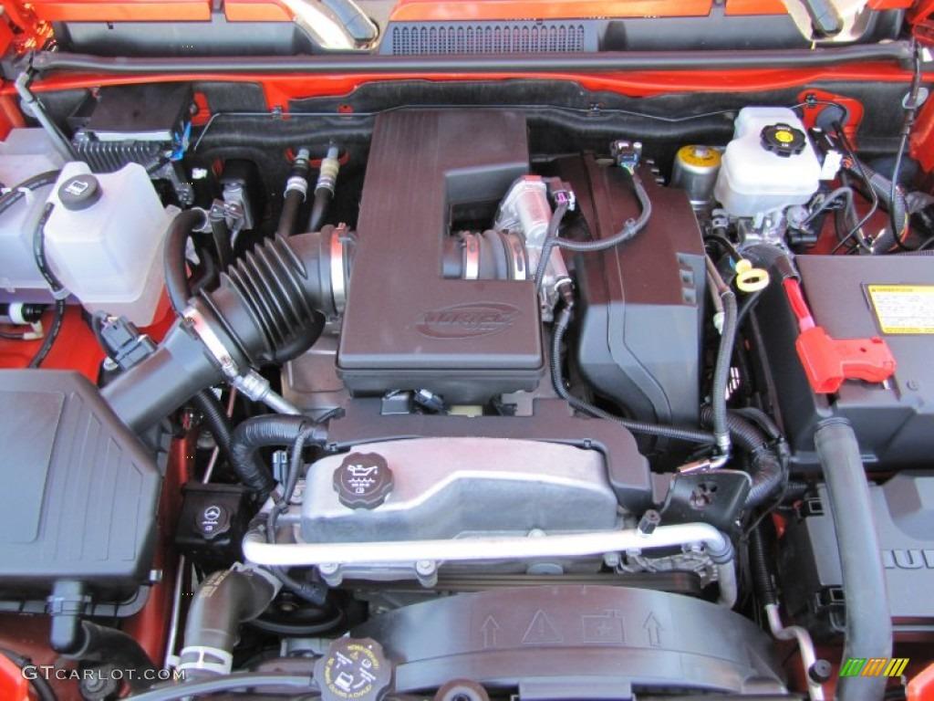 2008 Hummer H3 X 37 Liter DOHC 20V Vortec Inline 5 Cylinder