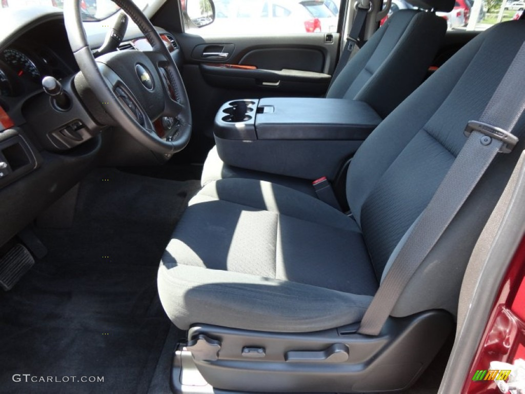 chevrolet avalanche interior ebony - photo #46
