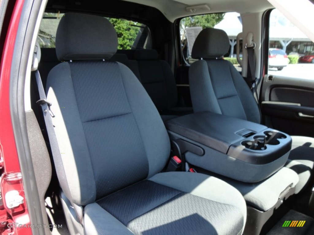 chevrolet avalanche interior ebony - photo #32
