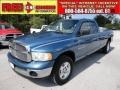 2002 Atlantic Blue Pearl Dodge Ram 1500 SLT Quad Cab 4x4  photo #1