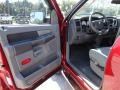 2007 Inferno Red Crystal Pearl Dodge Ram 3500 ST Quad Cab 4x4 Dually  photo #4