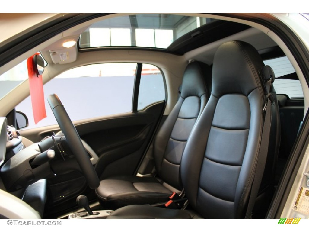 black leather interior 2011 smart fortwo passion coupe photo 52835766. Black Bedroom Furniture Sets. Home Design Ideas