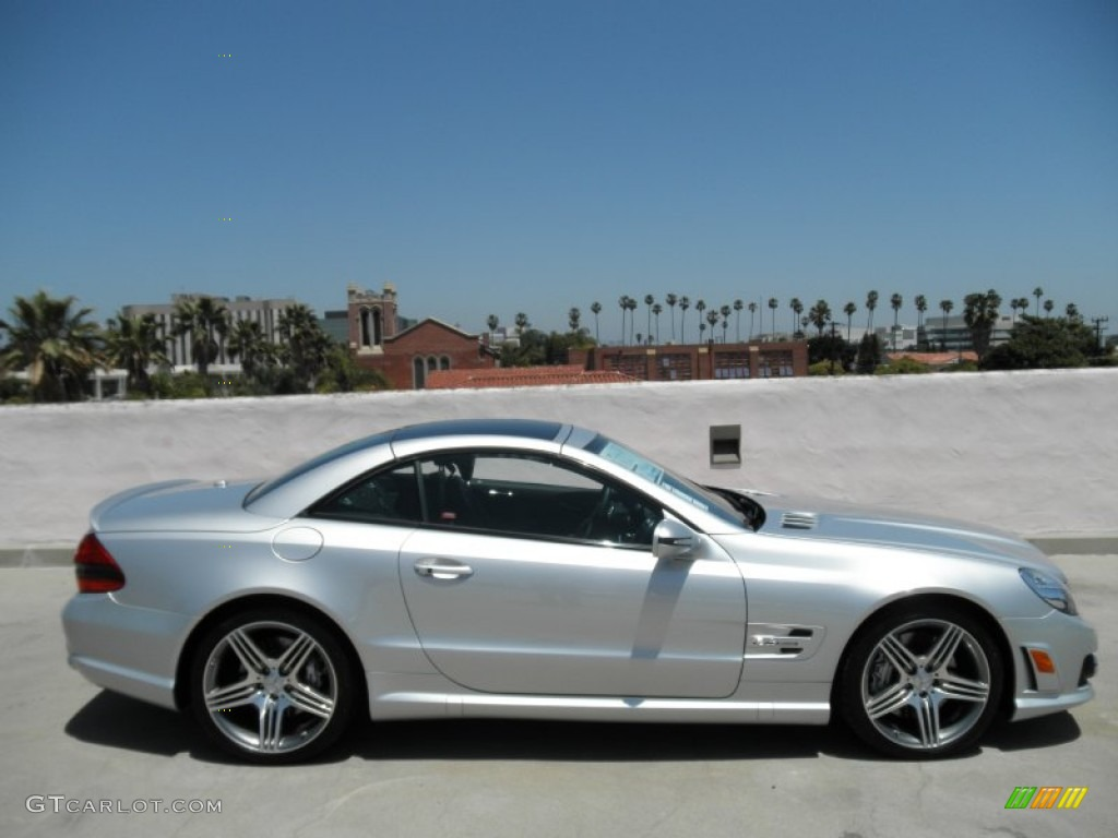 Iridium Silver Metallic 2011 Mercedes Benz Sl 63 Amg