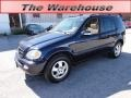 Capri Blue Metallic 2002 Mercedes-Benz ML 320 4Matic