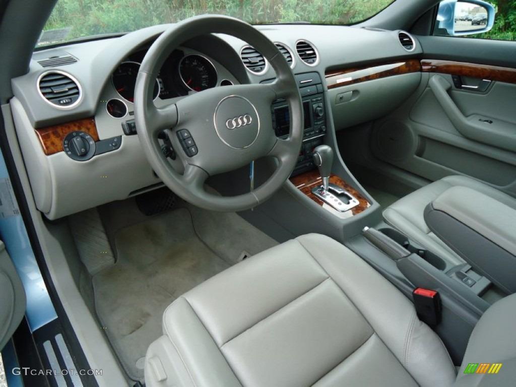 Platinum Interior 2006 Audi A4 3 0 Quattro Cabriolet Photo