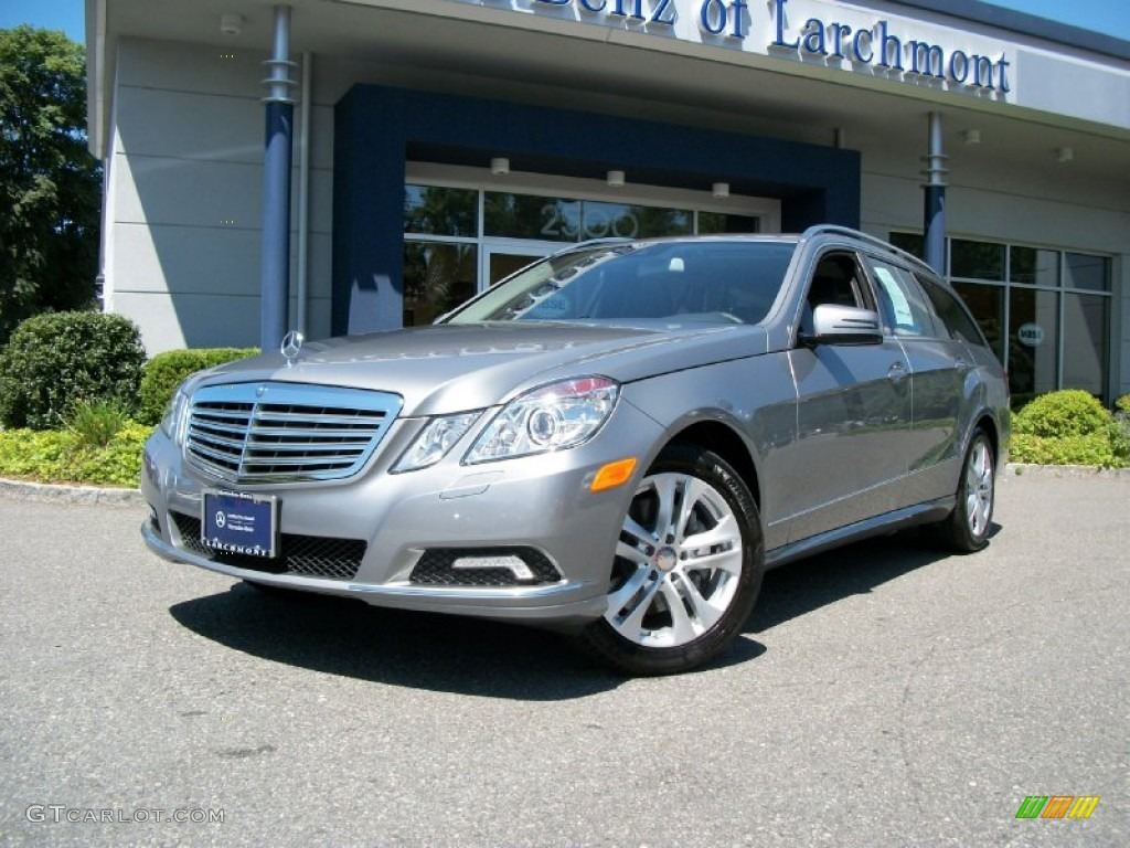 2011 palladium silver metallic mercedes benz e 350 4matic for Mercedes benz silver