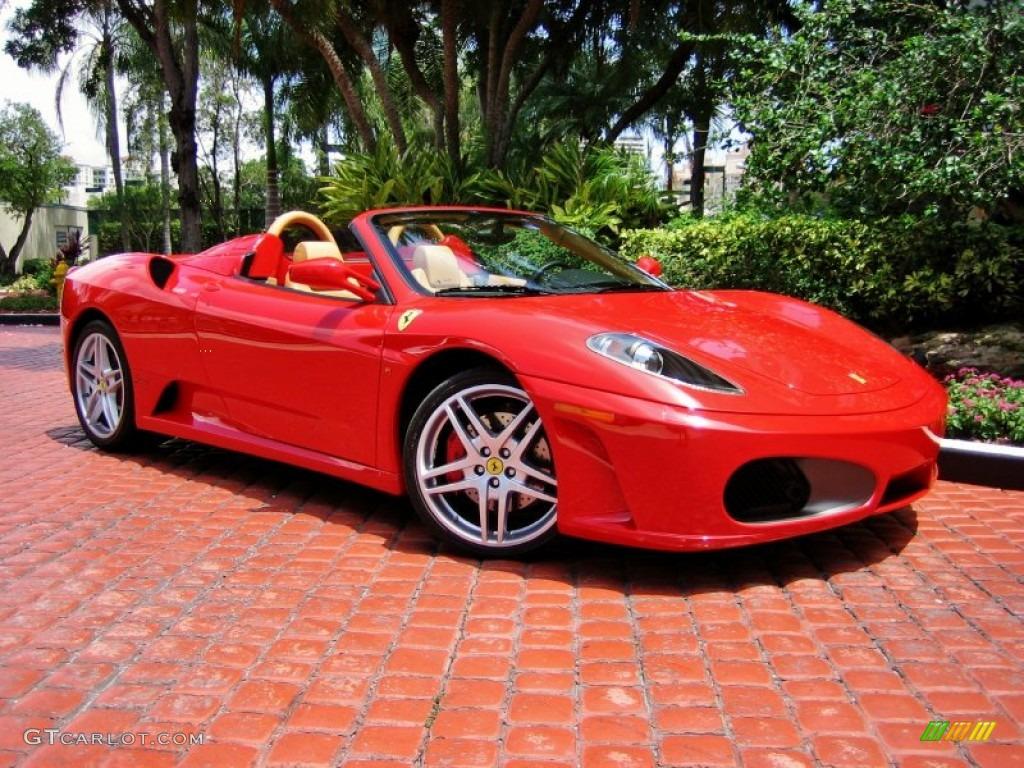 Rosso Corsa (Red) 2006 Ferrari F430 Spider Exterior Photo ...